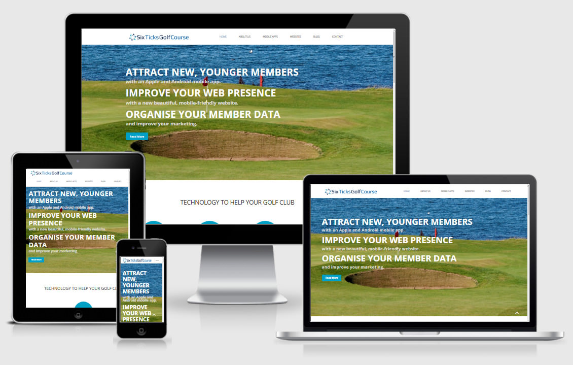 Website for Golf Clubs