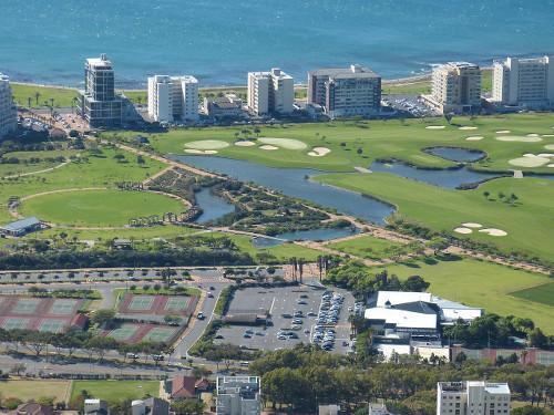 Aerial Sea Lakes Golf Course